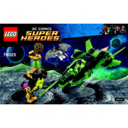 Notice / Instruction Lego Super Heroes 76025
