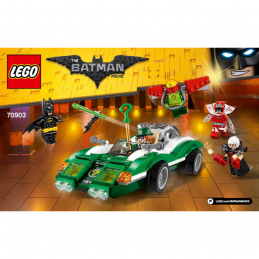 Notice / Instruction Lego  The Batman Movie 70903