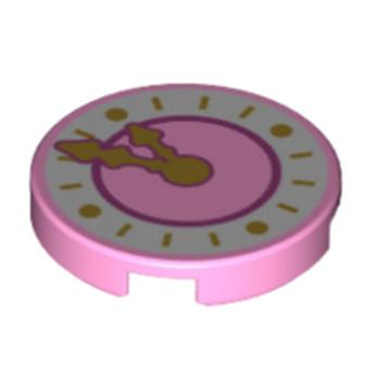 6135339 - Rond Lisse 2x2 - Horloge