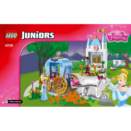 Notice / Instruction Lego Disney Princess - 10729