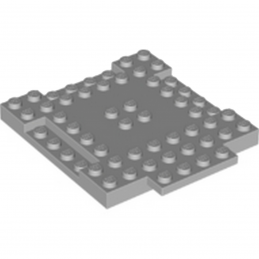 LEGO 6055165 PLAQUE 8X8X6 - MEDIUM STONE GREY lego-6055165-plaque-8x8x6-medium-stone-grey ici :