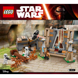 Notice / Instruction Lego Star Wars 75139