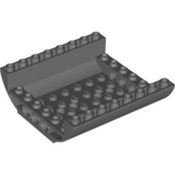 LEGO 6035536 MILIEU FUSELAGE BAS - DARK STONE GREY