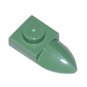 LEGO 6186079 DENT / GRIFFE 1X1 - SAND GREEN