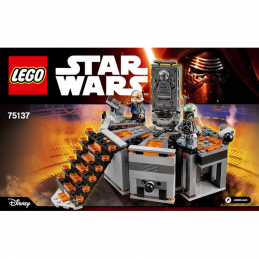Notice / Instruction Lego Star Wars  75137