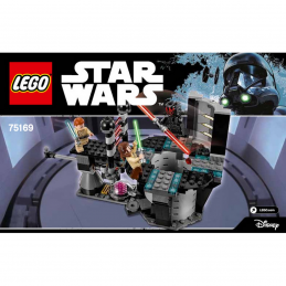 Notice / Instruction Lego Star Wars  75169