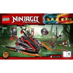 Notice / Instruction Lego Ninjago 70624