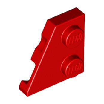 LEGO 6141552 - Plate 2x2 27DEG Gauche - Rouge