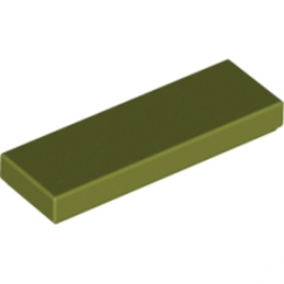 LEGO 6046903 PLATE LISSE 1X3 - OLIVE GREEN
