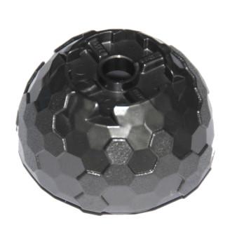 LEGO 6163088 1/2 SPHERE 2M / HOLE Ø4.85 - TITAN METAL