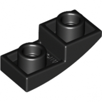 LEGO 6147050 - DOME INV. 1X2X2/3 - NOIR
