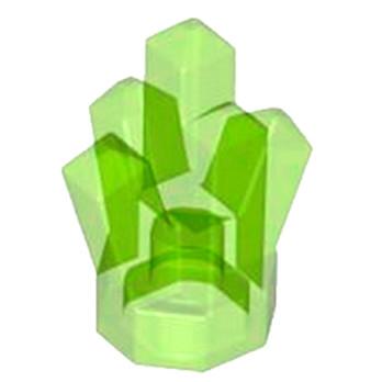 LEGO 6134621 ROCK CRYSTAL - VERT FLUO TRANSPARENT