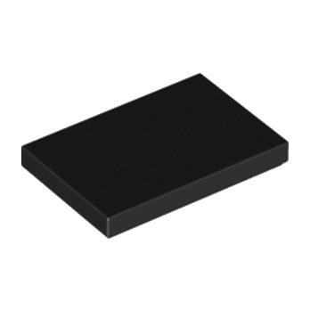 6162892 - Plate Lisse 2X3 - Noir