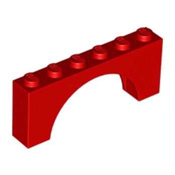 LEGO 6106184 ARCHE 1X6X2 - ROUGE