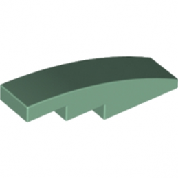 6042960 - Brick with bow 1x4 - Vert Sable