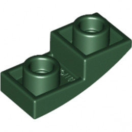 LEGO 6170761 - Dome INV. 1X2X2/3 - Earth Green