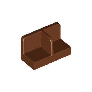 6133860 - FOOT, PLATE - Marron lego-6133860-mur-cloison-reddish-brown ici :