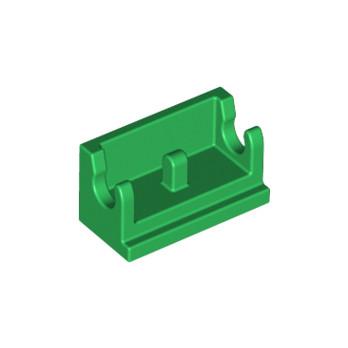 LEGO 6170765 ROCKER BEARING 1X2 - DARK GREEN