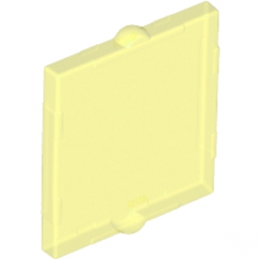 6013709 - GLASS FOR FRAME 1X2X2 - Jaune Transparent