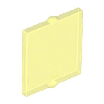 6013709 - GLASS FOR FRAME 1X2X2 - Jaune Transparent