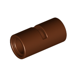 LEGO 6055781 TUBE W/DOUBLE Ø4.85 - REDDISH BROWN