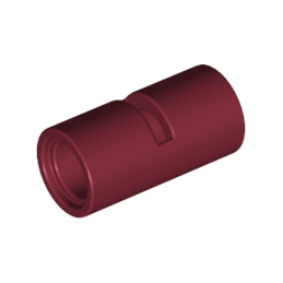 LEGO 4539091 TUBE W/DOUBLE Ø4.85 - NEW DARK RED