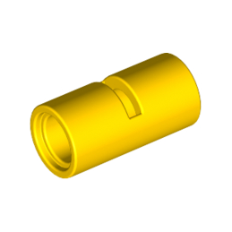 LEGO 4526983 TUBE W/DOUBLE Ø4.85 - JAUNE