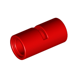 LEGO 4526984 TUBE W/DOUBLE Ø4.85 - ROUGE