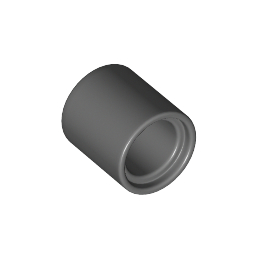 LEGO 6100030 Tube Beam 1x1 - Dark Stone Grey lego-6100030-tube-beam-1x1-dark-stone-grey ici :