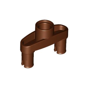 LEGO 6189165 DOUBLE SNAP W/ HOLE, DIA. 4.85 - REDDISH BROWN lego-6189165-double-snap-w-hole-dia-485-reddish-brown ici :