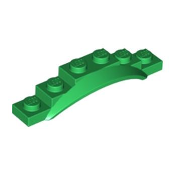 LEGO 6170764 GARDE BOUE 1X6X1 - DARK GREEN