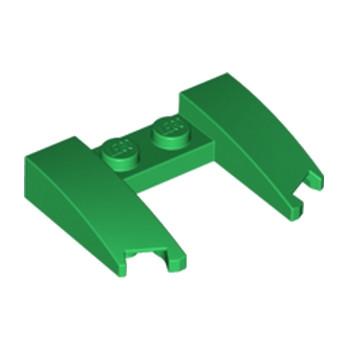 LEGO 6179681 CAPOT 4X3X2/3 - DARK GREEN