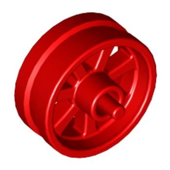 LEGO 6074771 JANTE Ø 14.58 X 8 - ROUGE