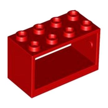 LEGO 4261690 CASIER PORTE ROULEAU 2X4X2 - ROUGE