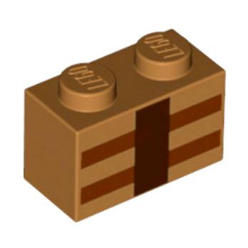 6097024 - Brique 1x2 Imprimé - Minecraft
