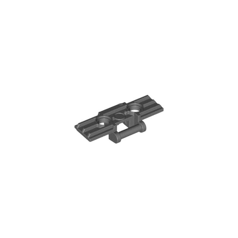 LEGO 4566742 CHENILLE TRACK ELEMENT, 5x1,5 - DARK STONE GREY