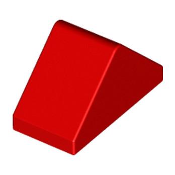 LEGO 304421  Tuile 1X2/45° - Rouge