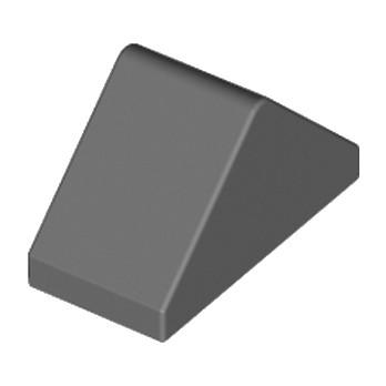 LEGO 4226221Tuile 1X2/45° - Dark Stone Grey