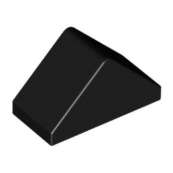 LEGO 304426 - Tuile  1X2/45° - Noir