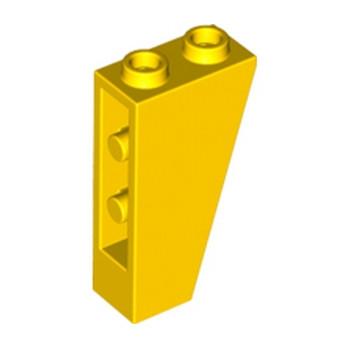 LEGO 6146485 TUILE 1X2X3/74° INV. - JAUNE