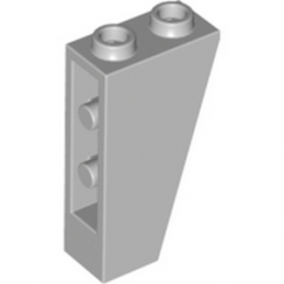 LEGO 4216248 TUILE 1X2X3/74° INV. - MEDIUM STONE GREY