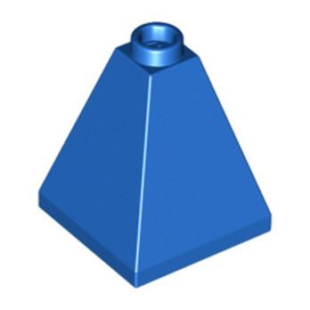 368823 - PYRAMID BRICK 2X2X2/73° - Bleu