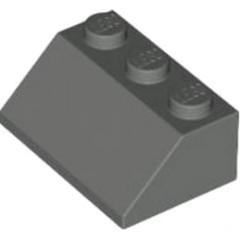 LEGO 4218188 TUILE 2X3/45° - DARK STONE GREY