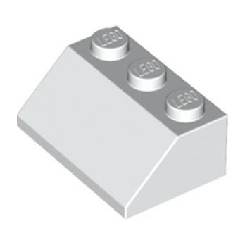 LEGO 303801 TUILE 2X3/45° - BLANC