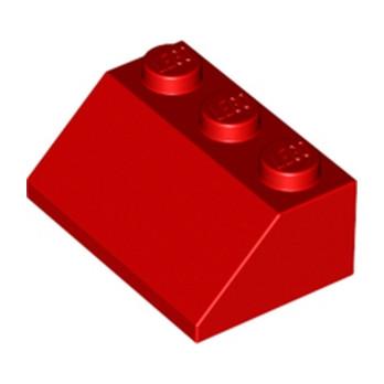 LEGO 303821 TUILE 2X3/45° - ROUGE lego-6303213-tuile-2x345-rouge ici :