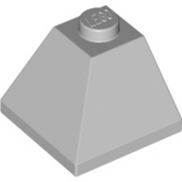 LEGO 4216250 CORNER BRICK 2X2/45° OUTSIDE - MEDIUM STONE GREY
