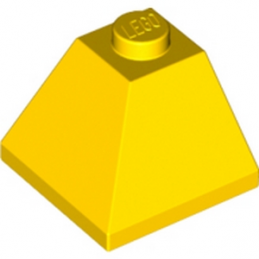 LEGO 304524  CORNER BRIQUE 2X2/45° OUTSIDE - JAUNE