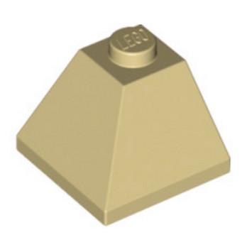 LEGO 304505 CORNER BRIQUE 2X2/45° OUTSIDE - BEIGE