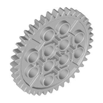 LEGO 6195314 GEAR WHEEL 40T Ø48 - MEDIUM STONE GREY