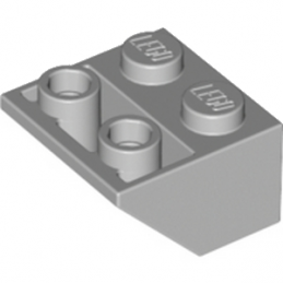 LEGO 4211436 TUILE 2X2/45 INV - MEDIUM STONE GREY